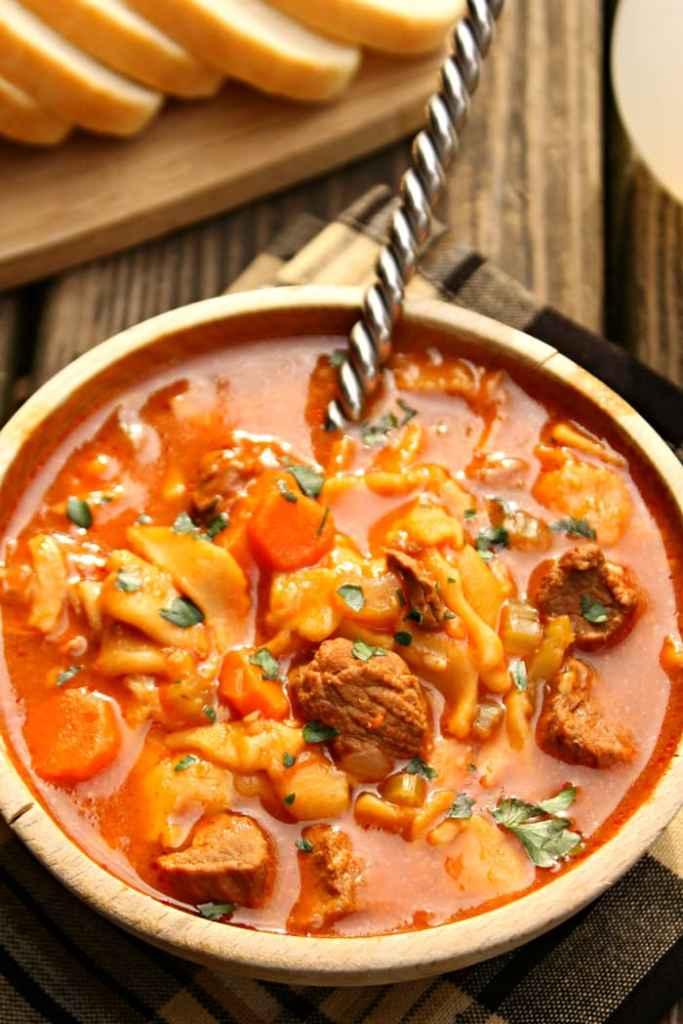 Beef Tenderloin Noodle Soup 5