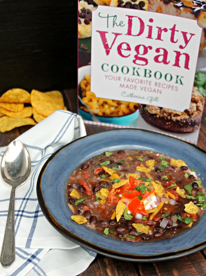 Loaded Vegan Black Bean Soup Recipe 2