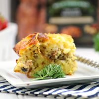 Everything Bagel Breakfast Casserole Recipe