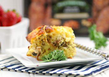 Everything Bagel Breakfast Casserole Recipe