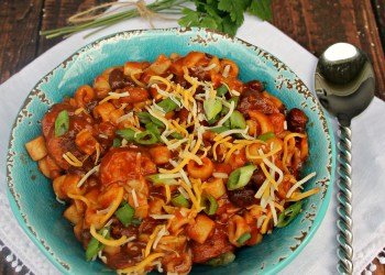 Slow Cooker Spicy Italian Sausage, Pasta And Bean Soup Recipe