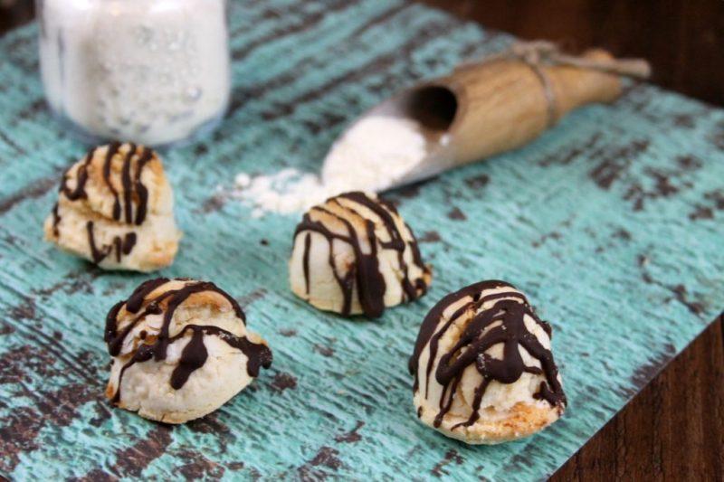 Chocolate Mint Keto Shortbread Cookies Recipe