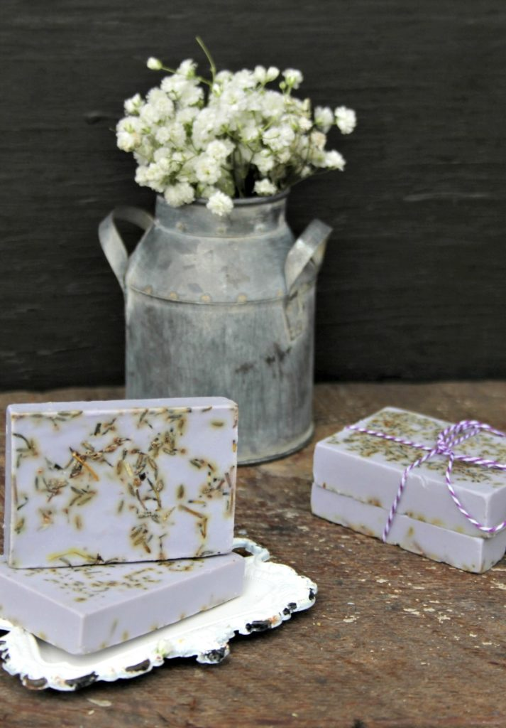 Lavender And Herb Essential Oils Soap Recipe