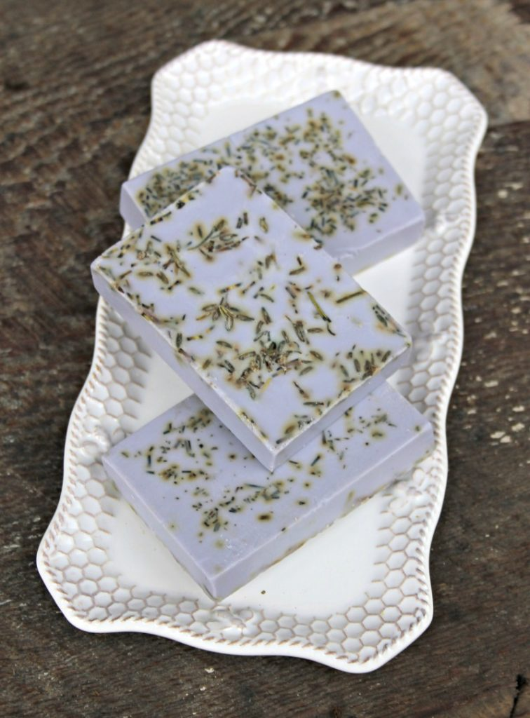 Lavender And Herb Essential Oils Soap Recipe 2