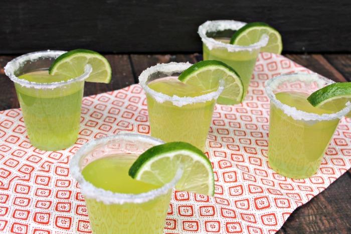 Top Shelf Lime Margarita Jello Shots Recipe