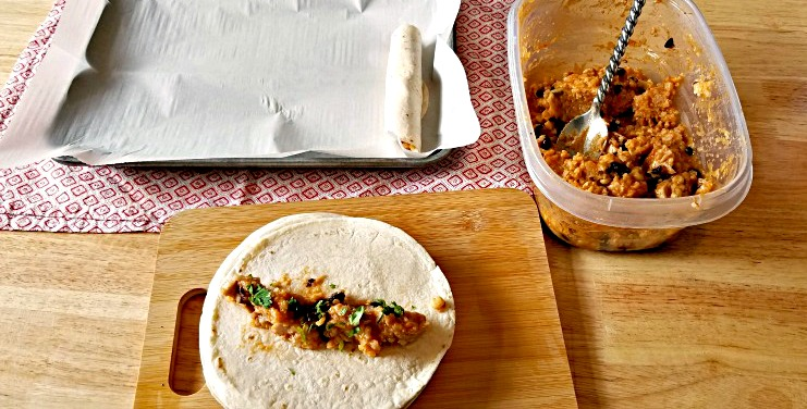 Instant Pot Chicken Taquitos Recipe Steps 19-21