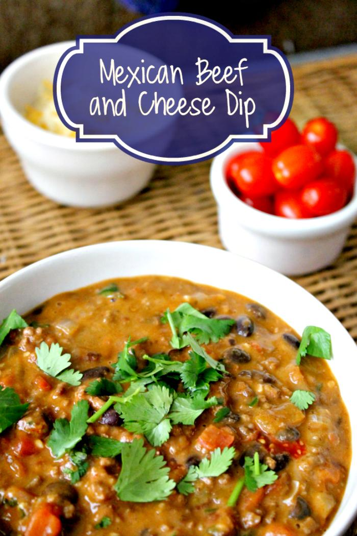 This Spicy Mexican Beef and Cheese Dip is an easy dip recipe for a party. Let the festivities begin!