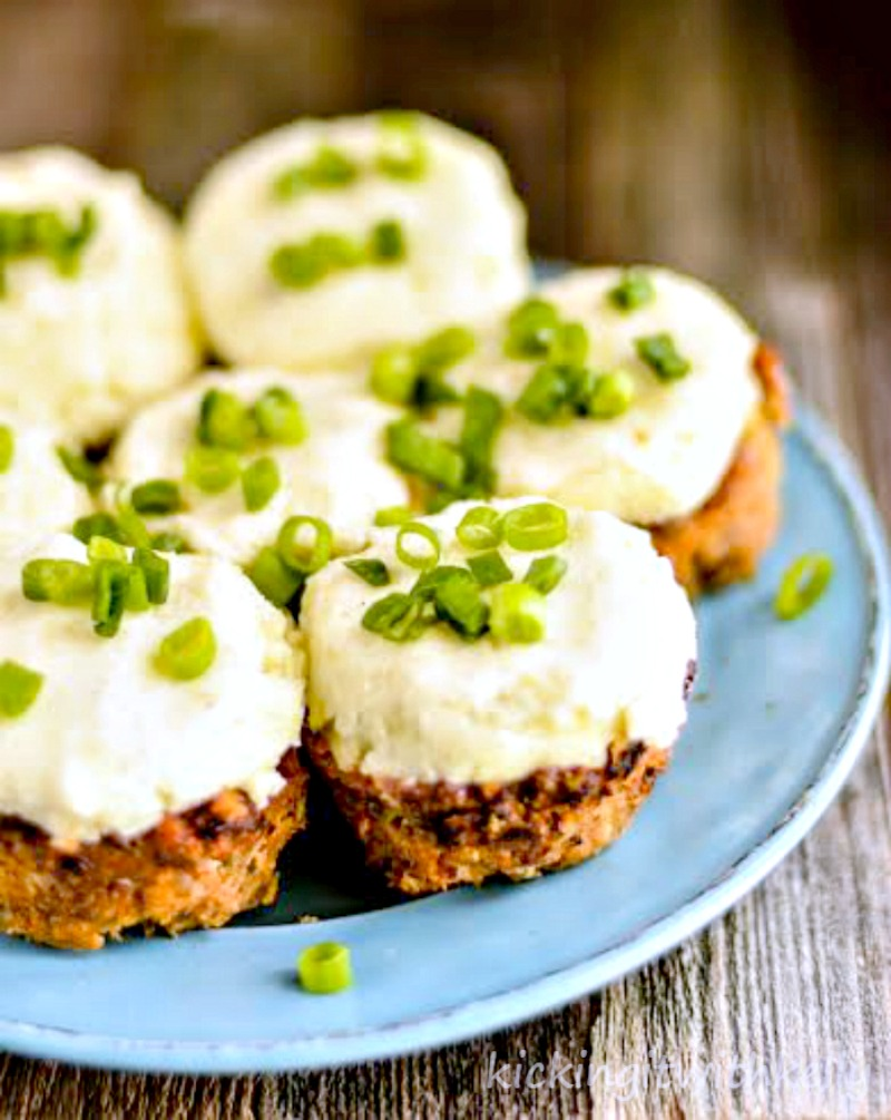 Mini Turkey Meatloaf Muffins With Mashed Potatoes recipe 2