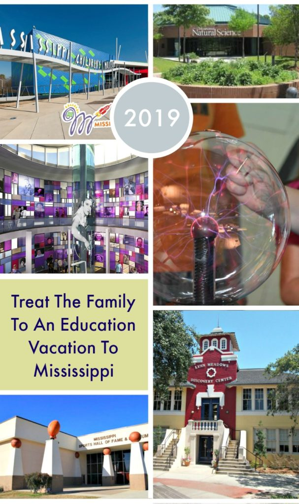 """If you are looking for a way to avoid the """"summer slide"""", take the family on a vacation they can have a blast while learning. Take a Mississippi education vacation this summer and have the time of your life! #ad #VisitMS #MississippiRunsDeep"""