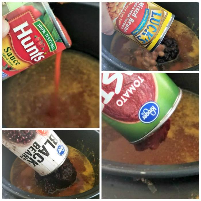 Spicy Crock Pot Sausage, Bean And Pasta Soup step 3