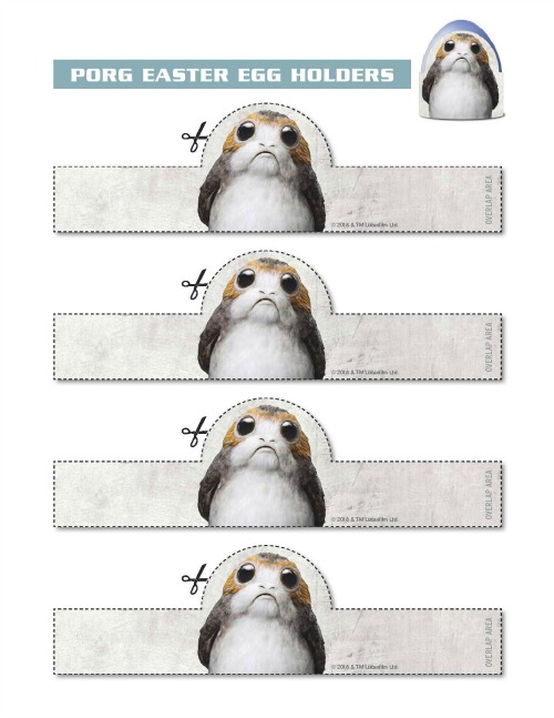 Star Wars: The Last Jedi Easter activity page2