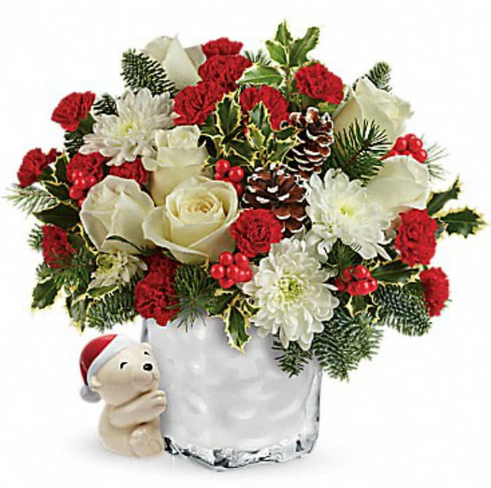 Top The Nice List This Christmas By Giving Teleflora Floral Arrangements 6
