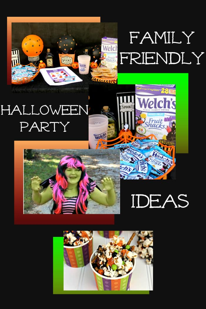 Throwing a successful Halloween party everyone will enjoy can be tricky. Here are 4 Simple Ways To Have A Family Friendly Halloween Party where everyone will have a blast! #ad @welchsfruitsnck
