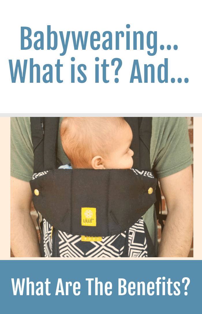 Babywearing is carrying a baby in a wrap, sling or carrier. The advantages of are numerous! Here are my top five benefits of babywearing you may not know about! #ad @lillebaby1