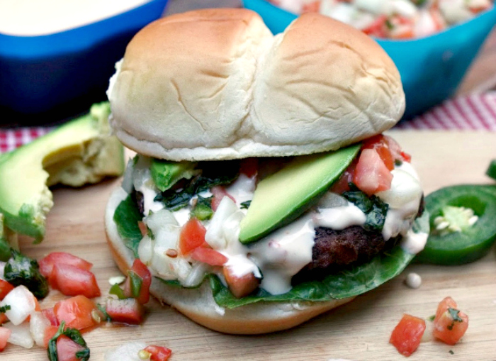 White Queso Burger quesoburgerpic