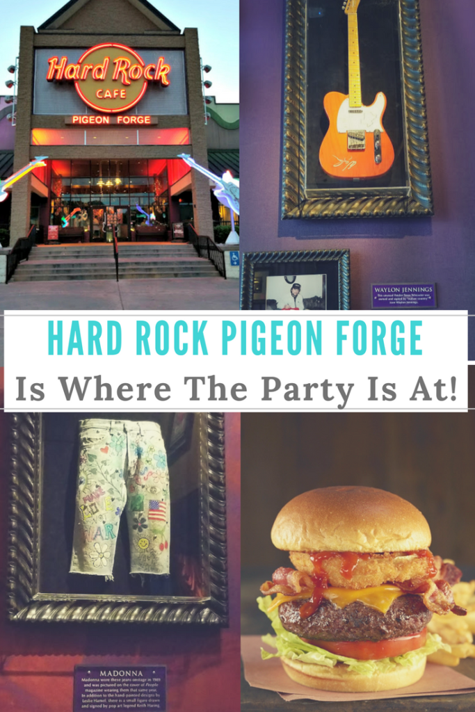 Whether you are looking for a rocking place to have a family meal or celebration, The @hardrock Cafe Pigeon Forge Is Where The Party Is At! #ad