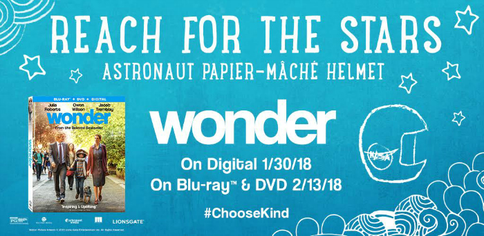 You Will Be Inspired When You See Wonder On DVD And Blu Ray helmet craft