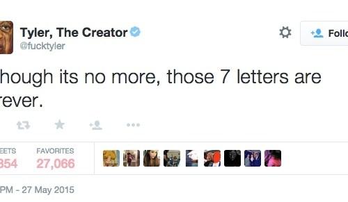 TylerTheCreatorTweet