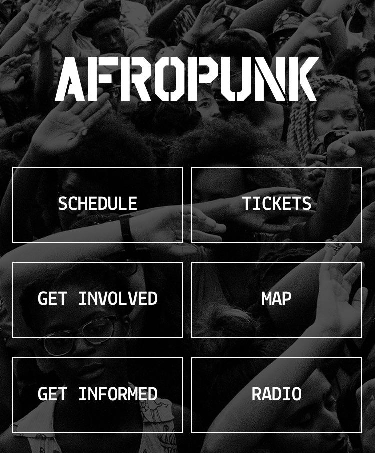 AfropunkPhoneApp