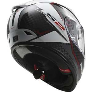 103233202L – LS2 FF323.32 Arrow C Fury Motorcycle Helmet L Carbon White