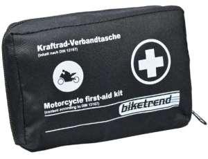 Cartrend Trousse de premiers secours pour moto DIN 13167