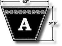 Courroie en V A42 (Dunlop)