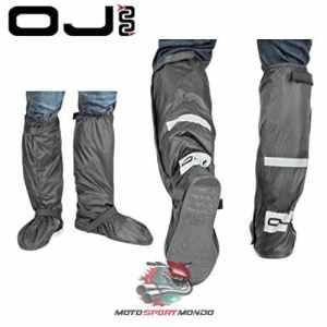 OJ JR01205 Chaussure 4 Saisons Plus Couvre 100 % Imperméable Tissu Externe en Polyamide Noir-Taille : 2XL