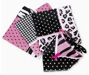 Sassy Pink Ribbon Bandana by FX