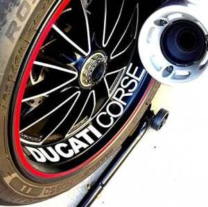 2 x DUCATI felgenaufkleber felgensticker plusieurs autocollants moto bike mONSTER 1098 998