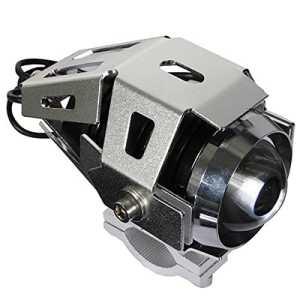 AUDEW 125W 3000LM LED U5 Moto Phare Avant Projecteur Feu Antibrouillard Etanche Haute Puissance Spot Light