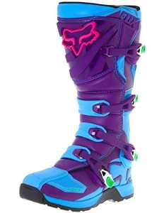 Bottes Motocross Fox Limited Edition Comp 5 Vicious Bleu (Eu 44 / Us 10 , Bleu)
