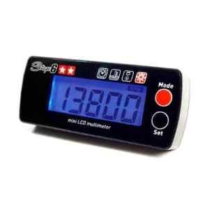 Compte-tours STAGE6mini, avec affichage de la température/moteur Run Time/Over Heat Avertissement (pour les moteurs hochdrehenden doit E