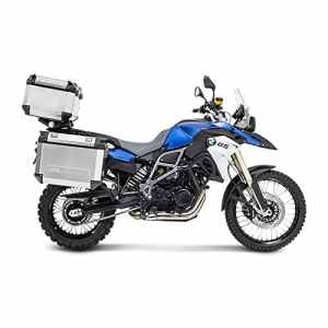 Ensemble Givi Valises latérales-Top Case Honda CB 500 X 13-15 Trekker Outback OBK48A-OBK58A alu argent