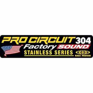 Exhaust sticker r-304 factory – dcfs304 – Pro circuit 18600639