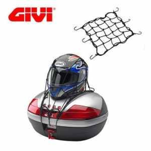 Filet élastique noire porte casque porte-bagages Givi t10N moto scooter Sym Jet Sport X 50