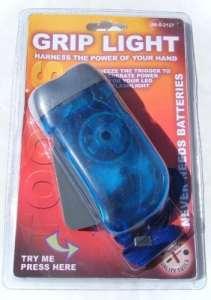 jensan Grip clair Grip à serrer pour Power Lampe torche à LED pas besoin de piles