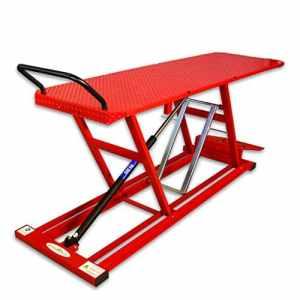 Pont élévateur DB90motomoc Los hydropne Uma Table