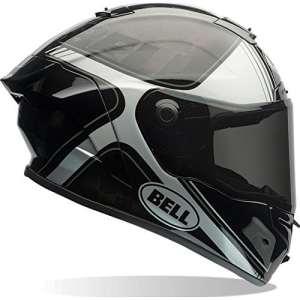 7069539 – Bell Pro Star Tracer Motorcycle Helmet L Black Silver