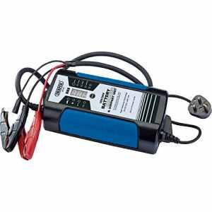 Draper ibc16s Automotive Chargeur de batterie intelligent 15Amp 240V pour batteries 12V et 24V 240V