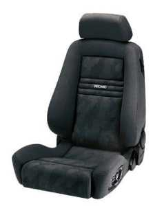 Recaro ergomed e–Airbag Basis artiste Noir/nardo noir copiloto