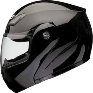 Shox Bullet Casque de moto relevable Noir 63-64cm (XXL)