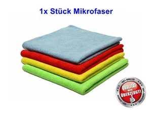 1X Allzwecktuch Mikrofaser Frotte KFZ Handtücher Reinigung Glasreinigung Bodenpflege Küche Büros Auto Hallen K0764