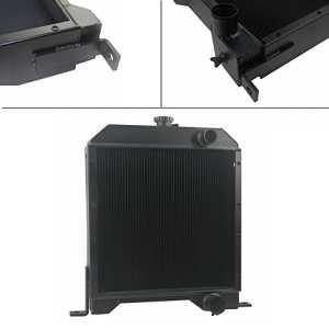 ALLOYWORKS 301877A2 3Row Aluminum Radiator For New Case Skid Steer Loader 1840 1845C Diesel