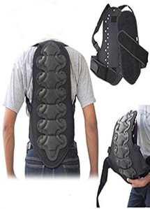 Coque dorsale ski/snowboard/moto – protection colonne vertébrale – Noir – M