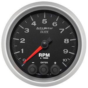 Auto Meter 5697 3-3/8 E/S In-Dash Tach – 10K RPM