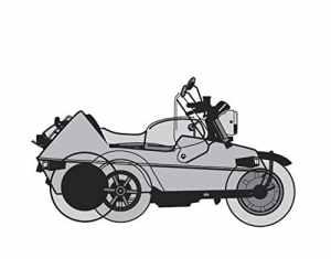 Ballier housse de protection pour moto garage polar-résiste à la chaleur-taille sidecar