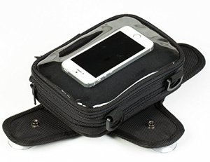 autokicker Navigateur GPS & Téléphone Porte Ventouse Mini Sac Réservoir pour moto et moto