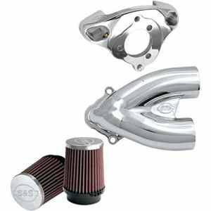 S&s tuned induction 2-1 air cleaner for 4 1/8″-bore … – S&s cycle 10101081