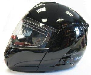 Viper RS-V131 Casque moto intégral modulable avec intercom Bluetooth Gloss Black xl
