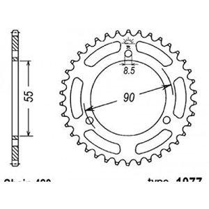 Couronne acier b1 52 dents chaine 420 rieju rs2 matrix – B1 47671047